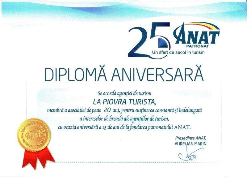 Diploma ANAT 25 ANI