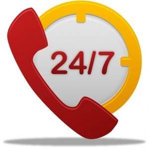 Telefonul de urgenta pentru 24/7 zile